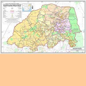 Northern Province 1:700.000