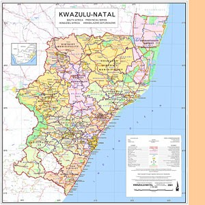 Kwazulu-Natal 1:700.000