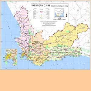 Western Cape 1:800.000