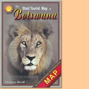 The Shell Tourist Map of Botswana
