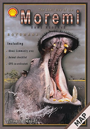 The Shell Tourist Map of Moremi Game Reserve