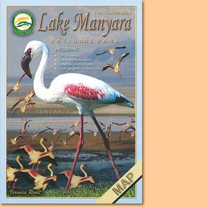 Tourist Map of Lake Manyara National Park