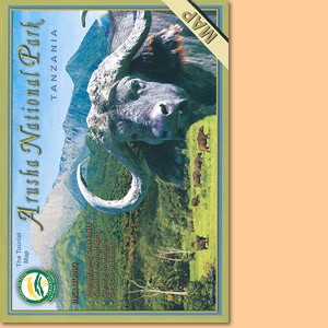 Tourist Map of Arusha National Park