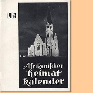 Afrikanischer Heimatkalender 1963