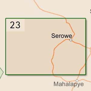 Serowe [1:250.000]