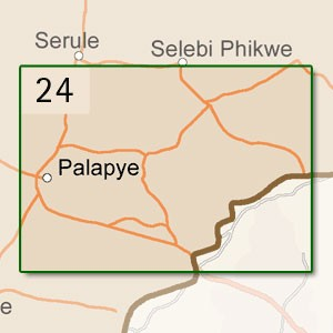 Palapye [1:250.000]