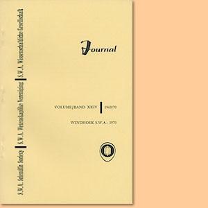 JOURNAL Vol. 24 (1969-70)