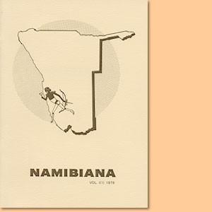 Namibiana Vol. I (1) 1979