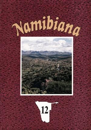 Namibiana Nr. 12 (1993)
