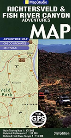 Richtersveld & Fish River Canyon Road Map (MapStudio)