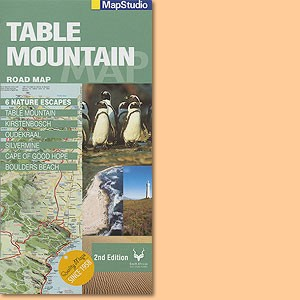 Table Mountain Road Map (MapStudio)