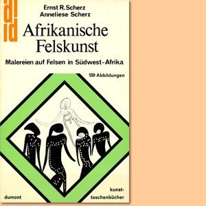 Afrikanische Felskunst: Malereien auf Felsen in Südwest-Afrika