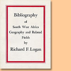 Bibliography of SWA Geography and Related Fields