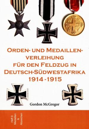 Orden- und Medaillenverleihung für den Feldzug in Deutsch-Südwestafrika 1914-1915