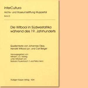 Die Witbooi in Südwestafrika während des 19. Jahrhunderts
