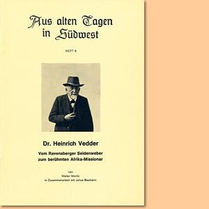 Dr. Heinrich Vedder