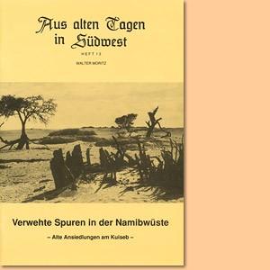 Verwehte Spuren in der Namibwüste