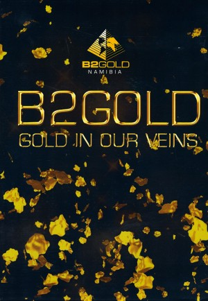 B2GOLD Namibia: Gold in our Veins (DVD)