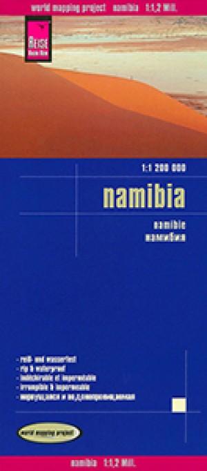 Namibia-Karte (Reise Know-how) Namibia Map 1:1.200.000