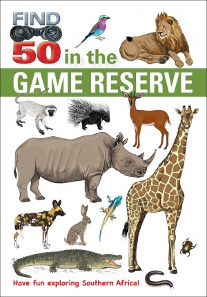 Find 50 in the Game Reserve: Have fun exploring Southern Africa