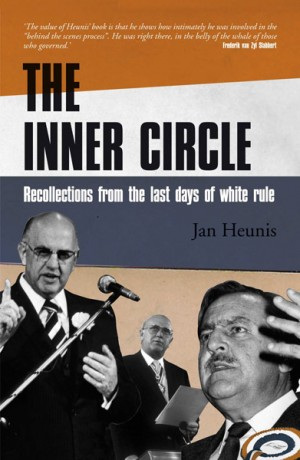 The inner circle: Recollections from the last days of white rule