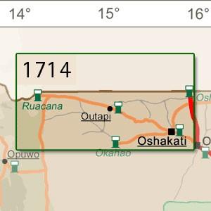 Oshakati [1:250.000]