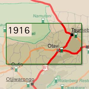 Tsumeb [1:250.000]
