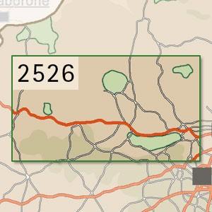 Rustenburg [1:250.000]