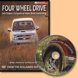 Four Wheel Drive. Side Slopes, Canyons of Utah, Boat Launching. DVD Film