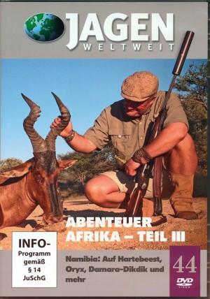 Abenteuer Afrika, Teil 3. Nambia: Auf Hartebeest, Oryx, Damara-Dikdik (Jagen Weltweit, DVD Nr. 44)