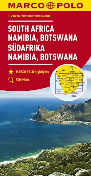 Südafrika, Namibia, Botswana (Marco Polo Karte)