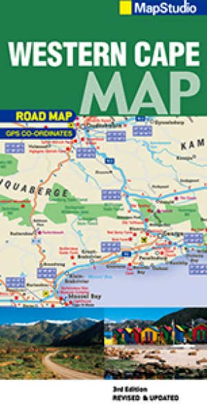 Western Cape Road Map (MapStudio)