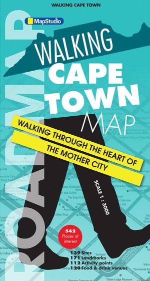 Walking Cape Town Road Map (MapStudio)