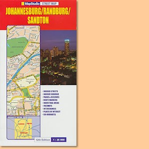 Johannesburg/Randburg/Sandton Street Map