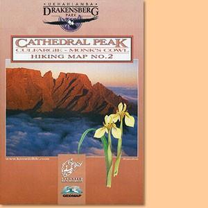Drakensberg Hiking Map/Wanderkarte No 2 - Cathedral Peak, Culfargie, Monk's Cowl 1:50.000