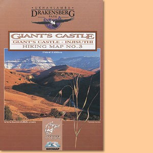 Drakensberg Hiking Map/ Wanderkarte No 3 - Giant's Castle, Monk's Cowl 1:50.000