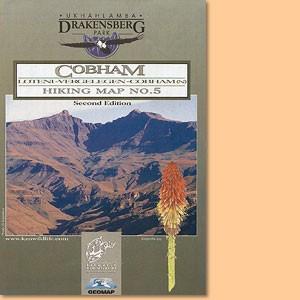 Drakensberg Hiking Map/ Wanderkarte No 5 - Lotheni, Vergelegen, Cobham (1:50.000)