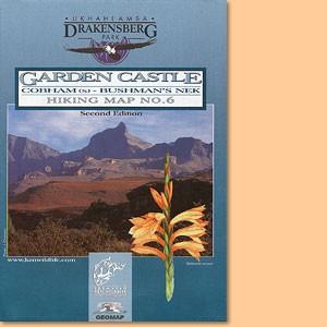 Drakensberg Hiking Map/ Wanderkarte No 6 - Cobham (s), Bushman's Nek 1:50.000