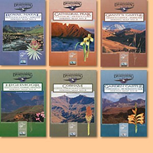Drakensberg Hiking Maps/Wanderkarten No. 1 - 6 / 1:50.000