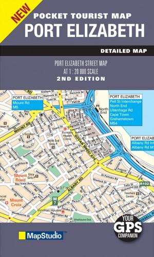 Port Elizabeth Pocket Map (MapStudio)