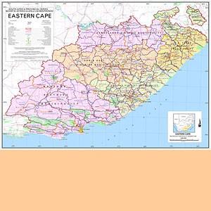 Eastern Cape 1:800.000