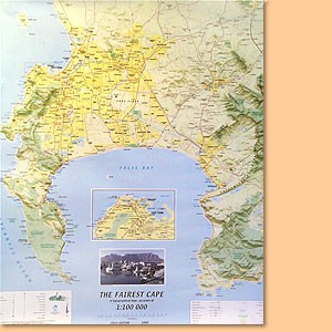 The Fairest Cape Topo Map/ Karte 1:100.000