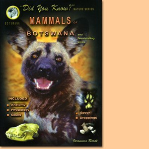 Mammals of Botswana and surrounding areas