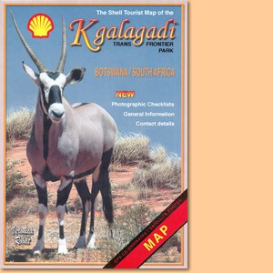The Shell Tourist Map of Kgalagadi Transfrontier Park