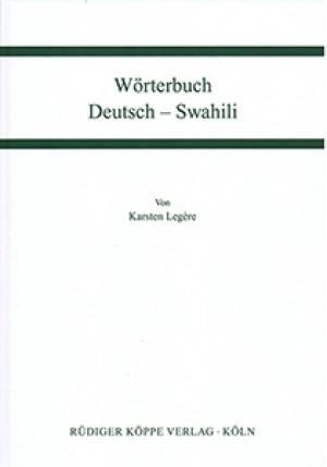 Wörterbuch Deutsch-Swahili