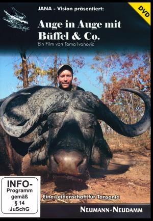 Auge in Auge mit Büffel & Co.: Eine Leidenschaft für Tansania (DVD JANA-Vision Nr. 14)