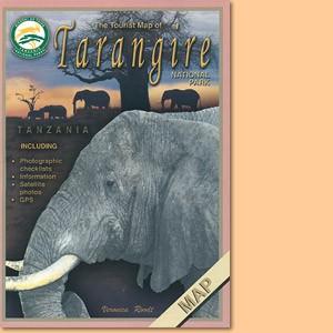Tourist Map of Tarangire National Park