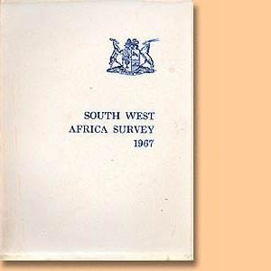 South West Africa Survey 1967