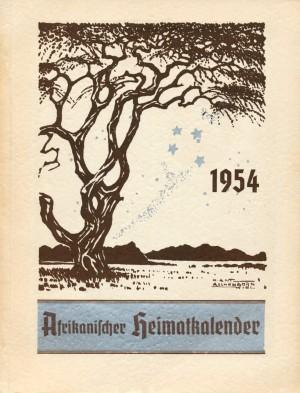 Afrikanischer Heimatkalender 1954
