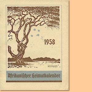 Afrikanischer Heimatkalender 1958